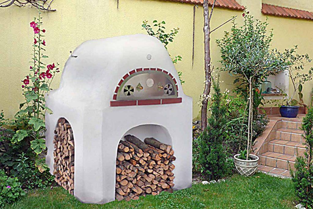 Backofen Pizzaofen für den privaten Gebrauch. Für ca. 8 kg Brot oder ca. 3 Pizzas pro Backvorgang. Leidenschaftlich Backen … Kochvergnügen für den Hobby- oder Profikoch auch für Draußen.