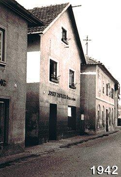 Damals in der Hueberstraße Hafnerei in Oberösterreich