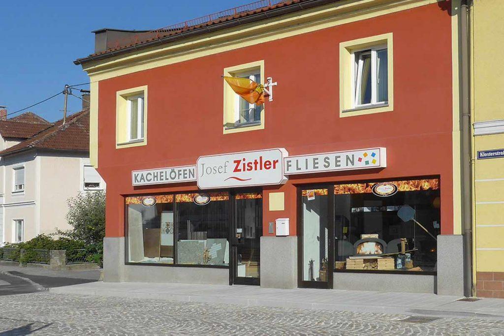 Schauraum Hafnerei Ofensetzer Josef Zistler in Klosterstraße 4 in 4730 Waizenkirchen